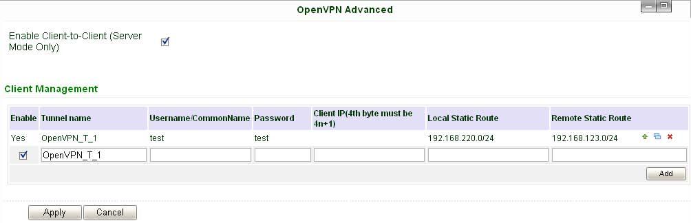 App_Guide_OpenVPN_UserPassword Mode - InHand物联网智库百科